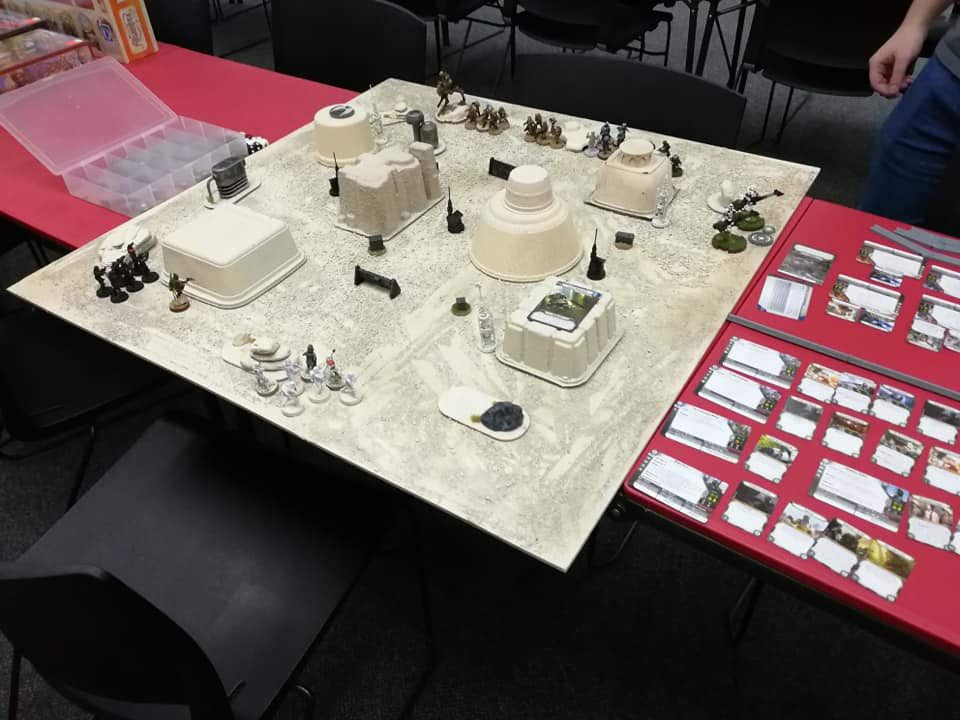 We played on my Tatooine Messa table with 500 points a piece.