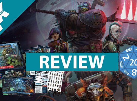 RPG Review: Starfinder Beginner Box