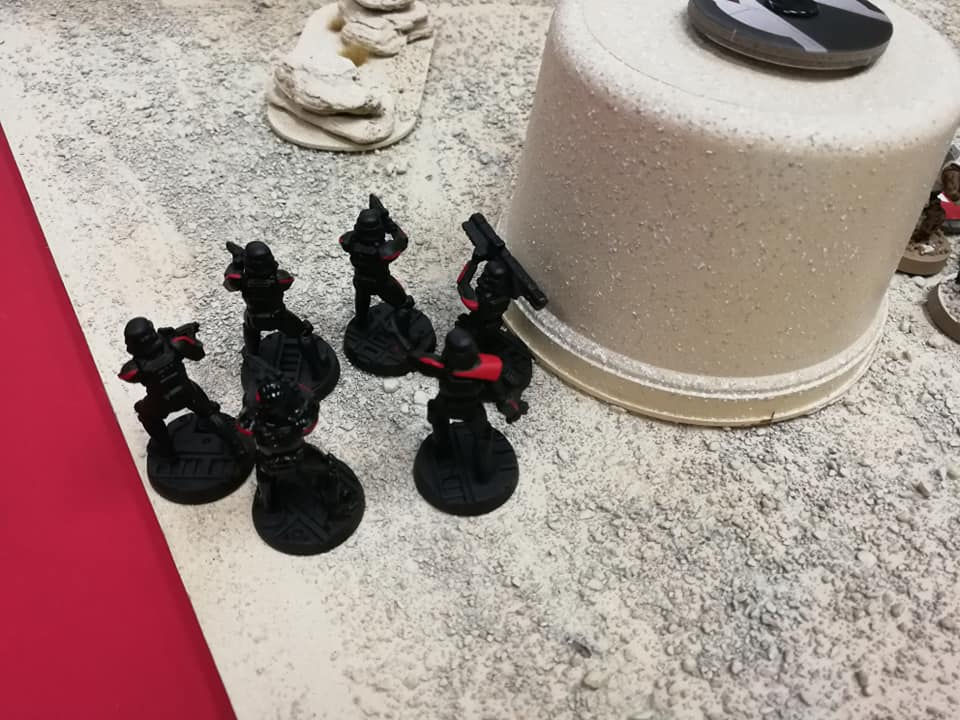 Inferno squad spent the whole gaming trying to flank the Rebels