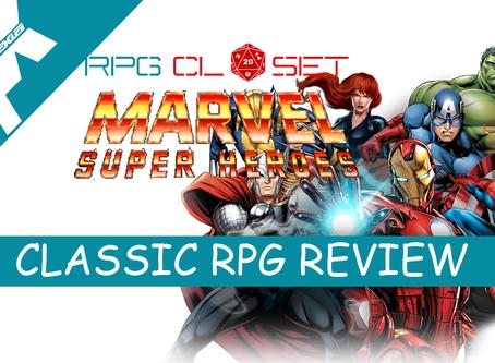 RPG CLOSET: classic MARVEL SUPER HEROES RPG