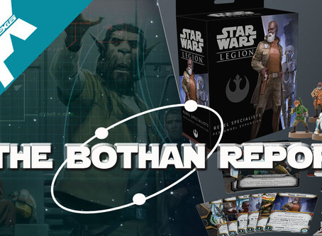 Bothan Report:  Star Wars Legion introduces Unsung heroes