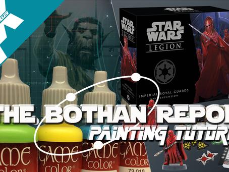 Bothan Report: Royal Guard Painting Tutorial