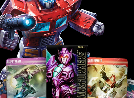 Why the Transformers TCG may be the card game for me.
