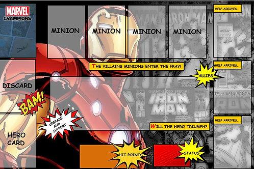 Iron Man Hero Mat-IM1