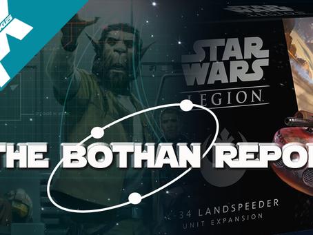 Bothan Report: X34 LANDSPEEDER FAST BUILD