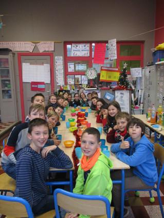 Cacahuètes et apéro  en 5e année