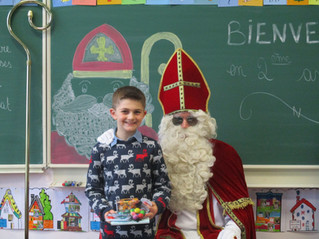 St-Nicolas en 2e année