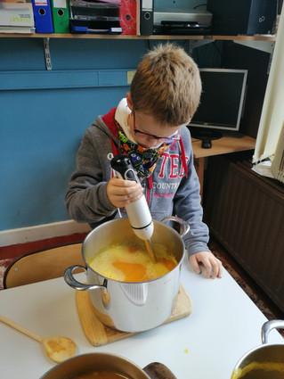 P5- soupe d'Halloween