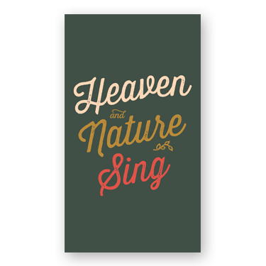 Heaven Nature mini card