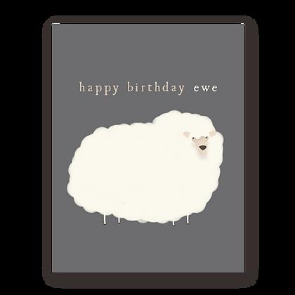 HBD Ewe Greeting Card