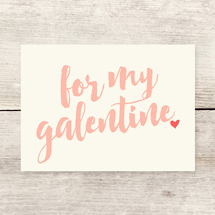 Galentine Greeting Card