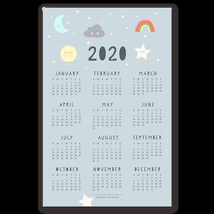 2020 Sky Wall Calendar