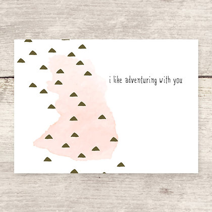 Adventuring Greeting Card