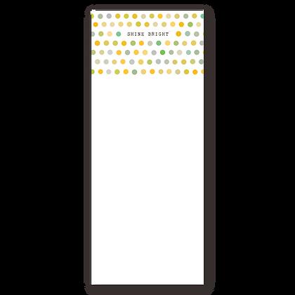 Shine Bright Notepad