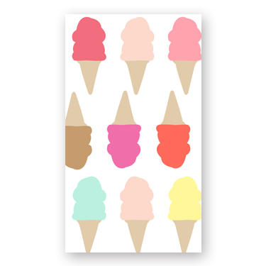 Ice Cream mini card