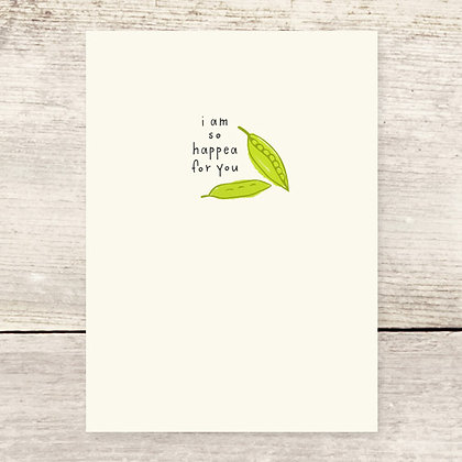 So Happea For You Greeting Card