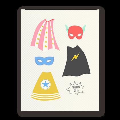 Superhero Encouragement Greeting Card