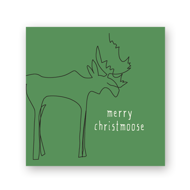 Christmoose mini card