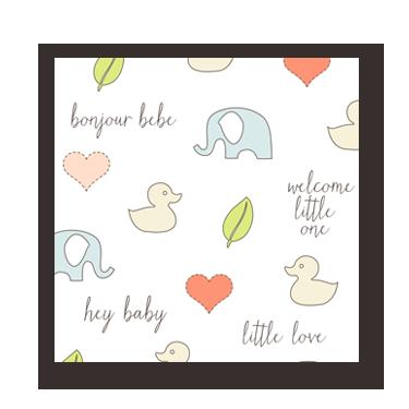 Duckies mini card