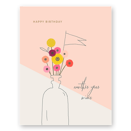 HBD Another Year Greeting Card