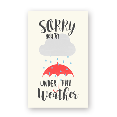 Under the Weather mini card