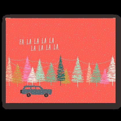 Wagoneer Holiday Greeting Card