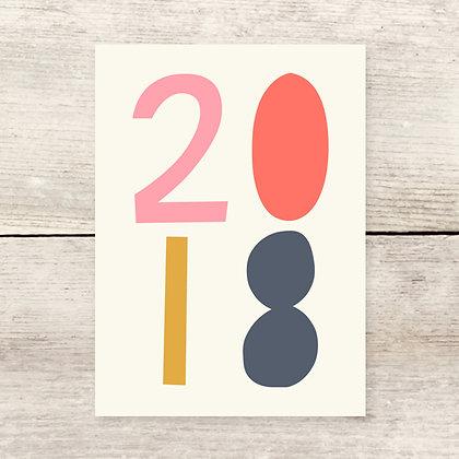 2018 Greeting Card