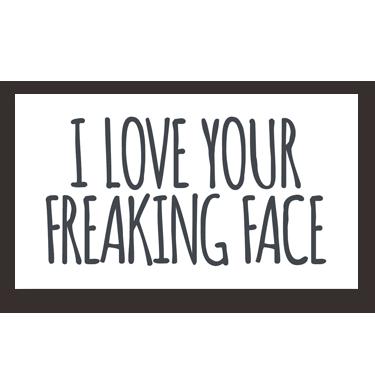 Freaking Face mini card