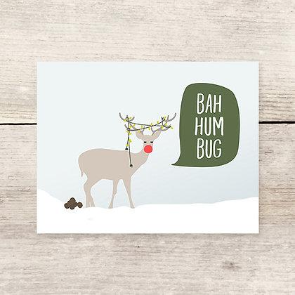 Bahhumbug Holiday Greeting Card