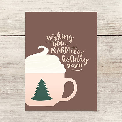 Cozy Holiday Greeting Card