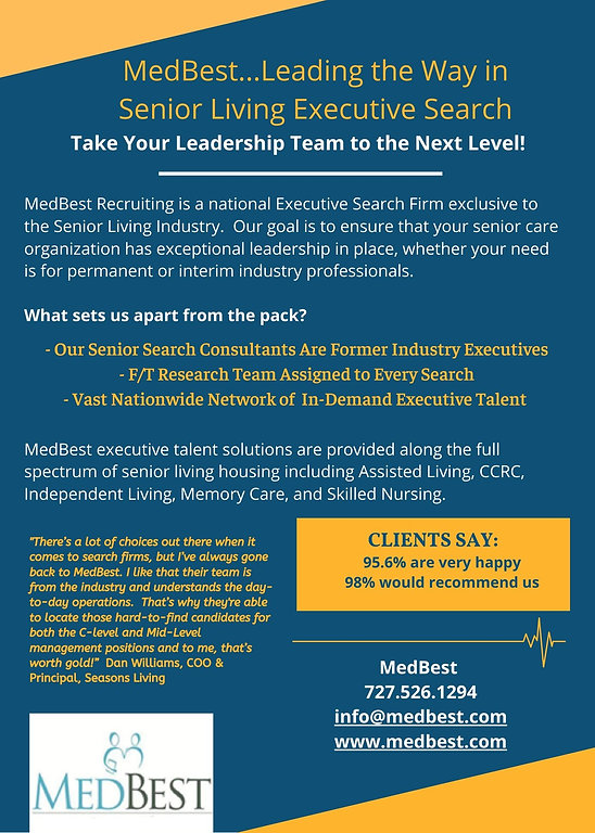 MedBest Senior Living Executive Search S