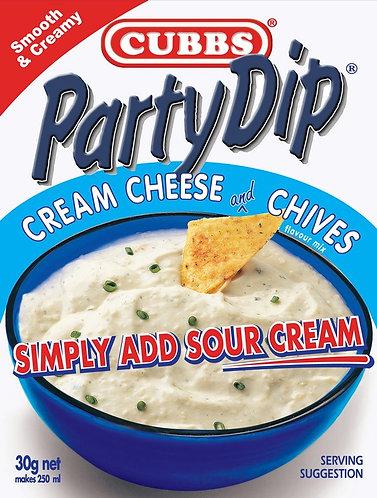Party Dip Premium Range - Add Sour Cream - Cream Cheese & Chives
