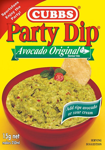 Party Dip Traditional - Add Fresh Avocado - Avocado Original