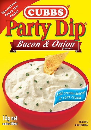 Party Dip Traditional - Add Cream Cheese - Bacon & Onion Flavour