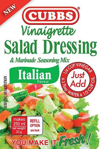 Salad Dressing - Vinaigrette Range - Italian Flavour