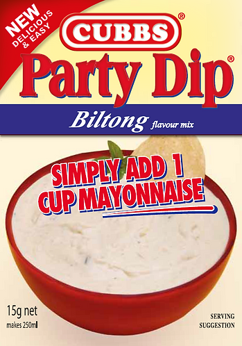 Party Dip - Add Mayonnaise - Biltong Flavour