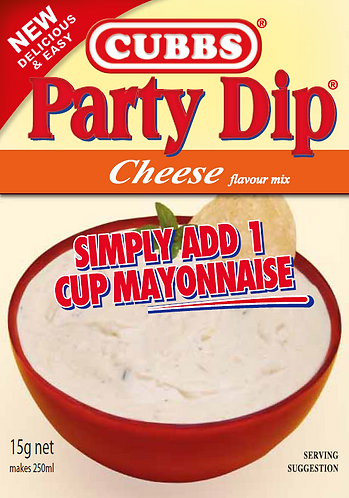 Party Dip - Add Mayonnaise - Cheese Flavour