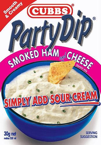 Party Dip Premium Range - Add Sour Cream - Smoked Ham & Cheese Flavour