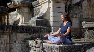 Karen Boudoux, Kemty yoga, cours de yoga