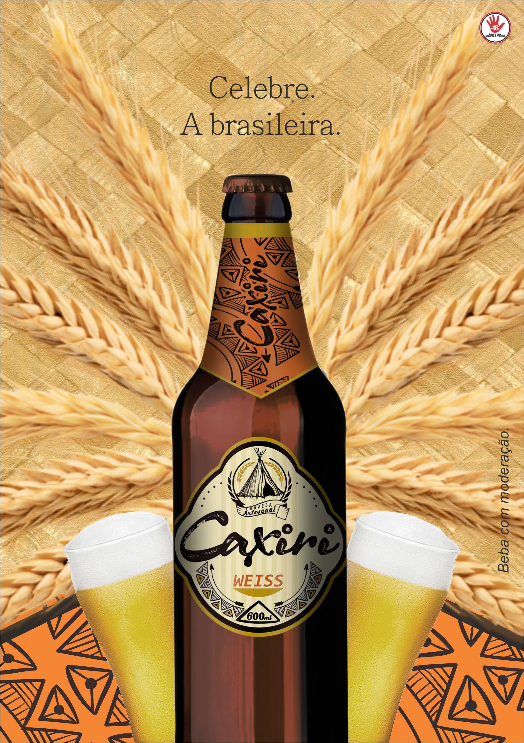 Anúncio Cerveja Caxiri