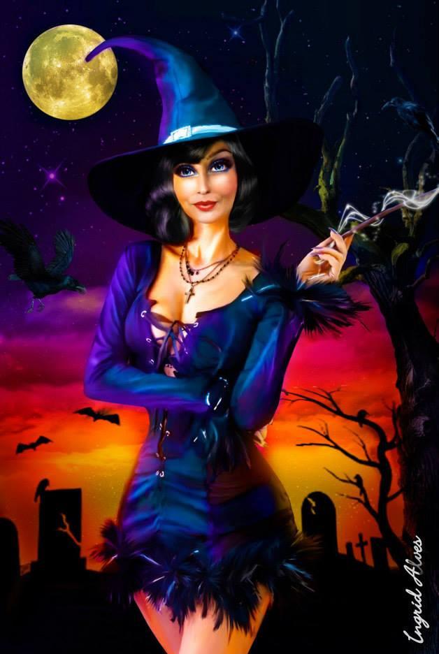 Witch - Pintura Digital