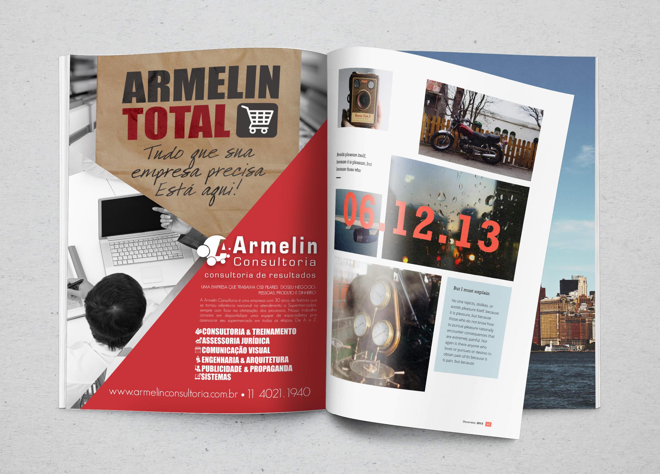Anúncio Armelin