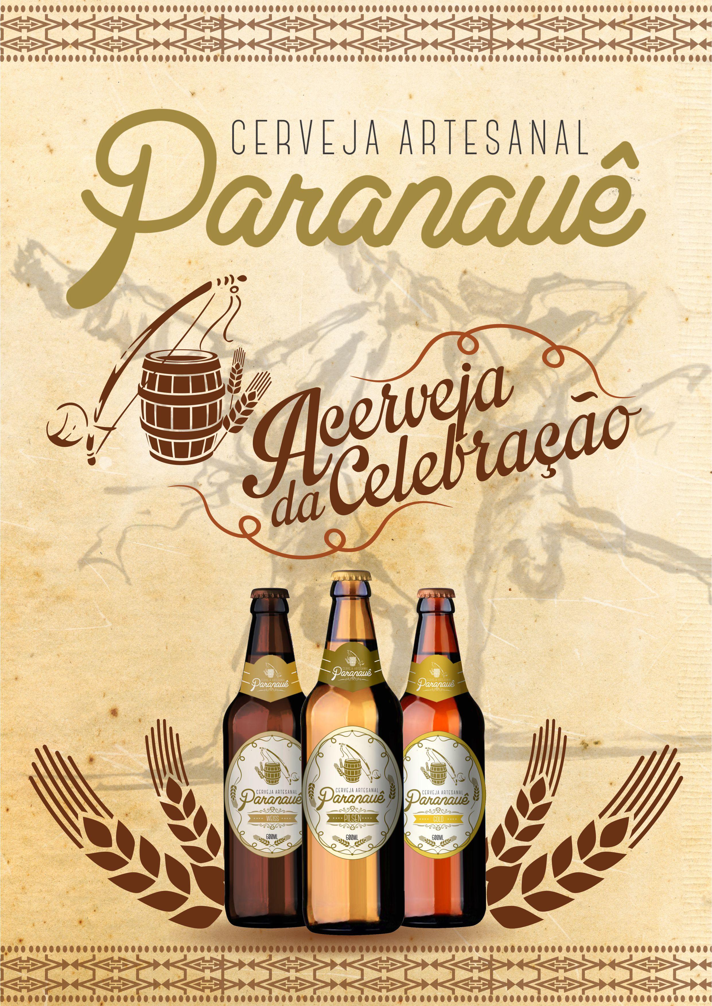 Cerveja Paranauê Anúncio