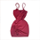 Thumbnail: Vestido Vinho Frufru