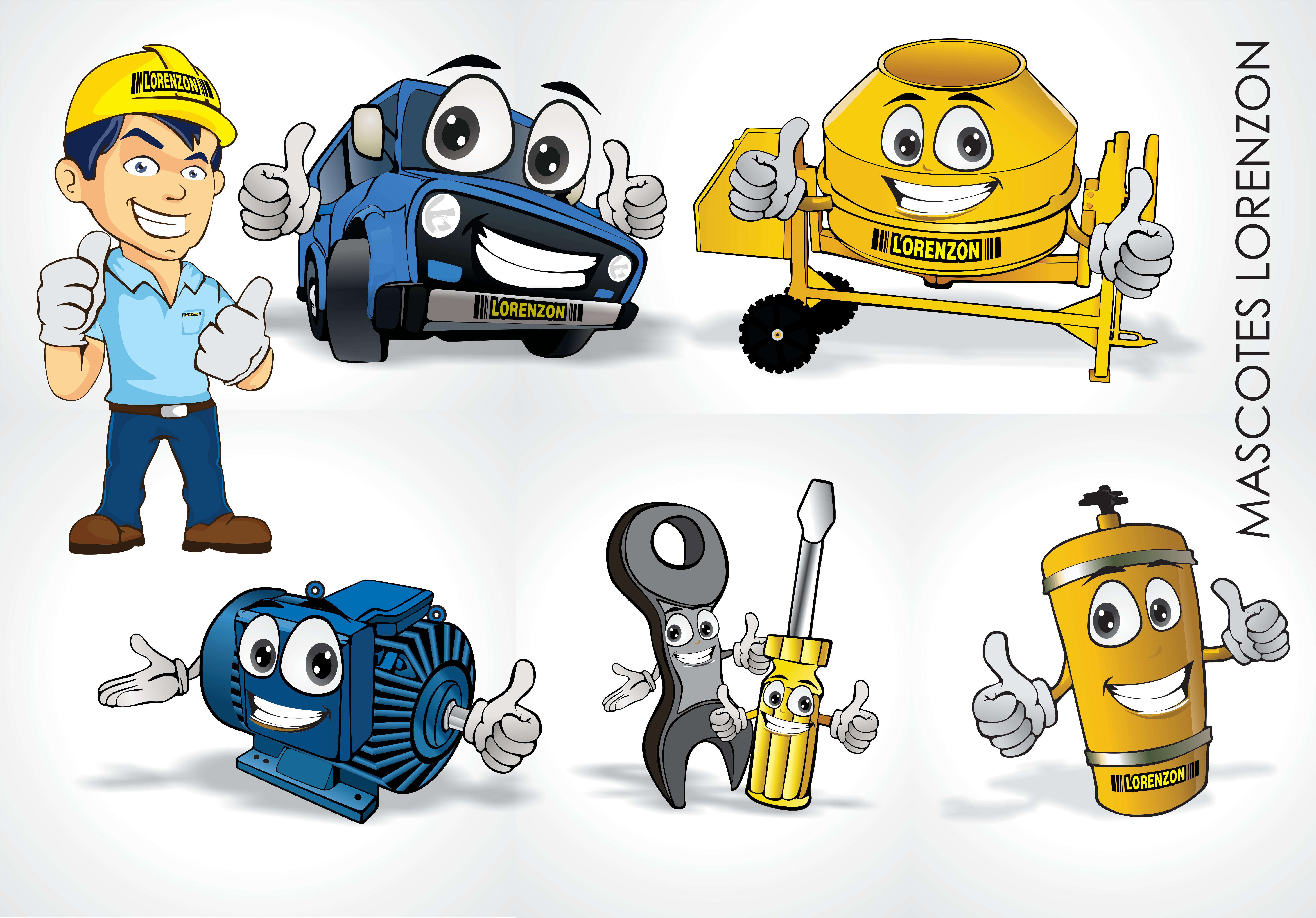 Mascotes Lorenzon