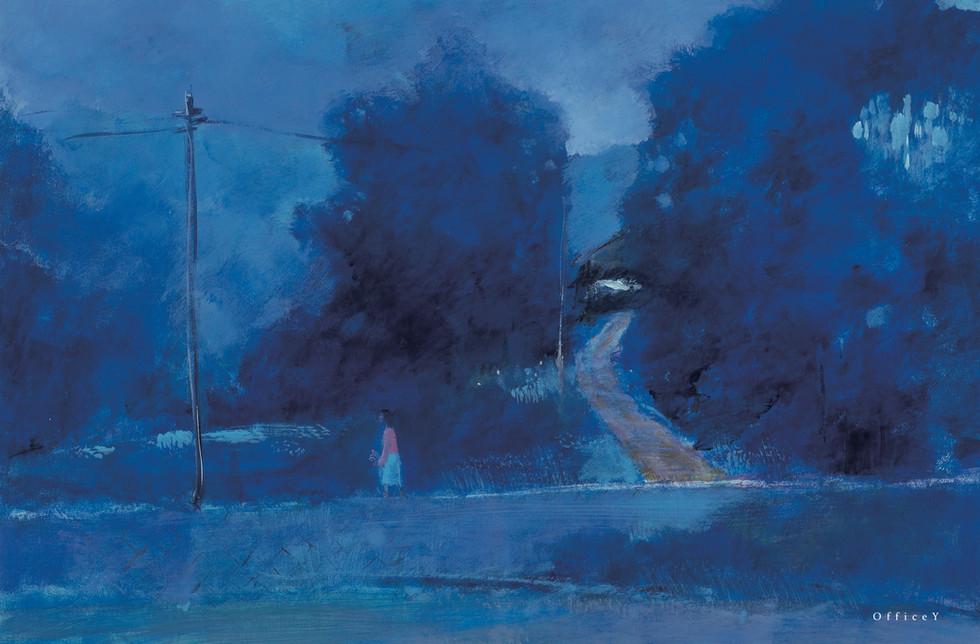 夕暮れの坂道 1982年