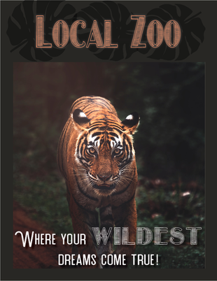 Local Zoo Poster