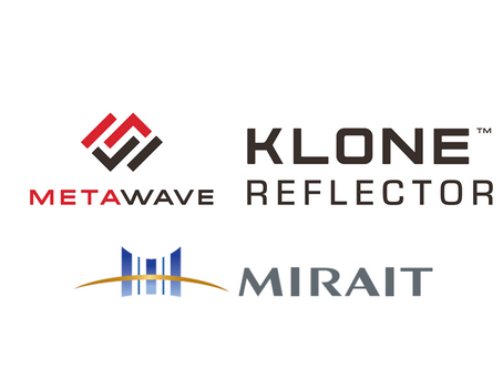 "MIRAIT starts to sell 5G Area Construction Reflector ""KLONE™"" applying Metamaterial/Metastrucuture"