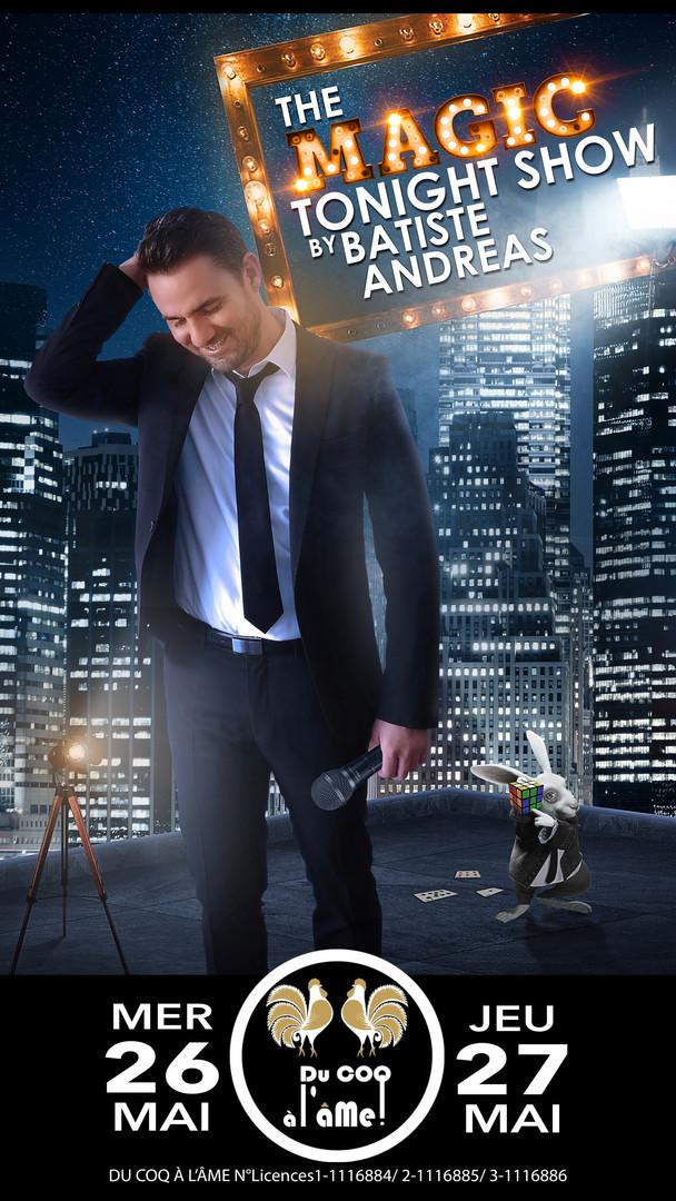 Batiste Andreas_Tonight Magic Show_Café-