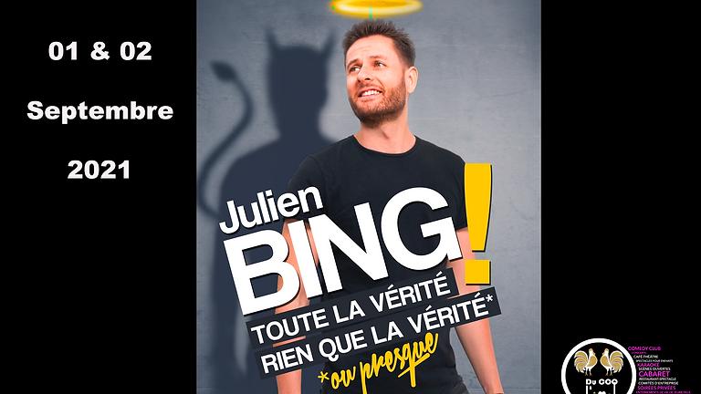 Café-Théâtre / Julien Bing - Toute la vérité rien que la vérité